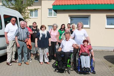 Bild: SBV-DL Erinnerungsfoto mit unseren Gästen