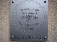 Bild: SBV - Die ersten Plaketten wurden 2009 anlässlich der 750 . Jahrfeier vergeben