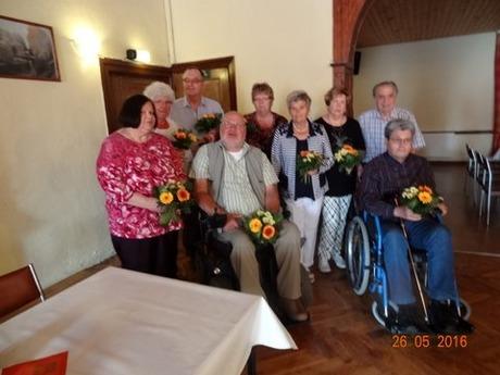 Bild: SBV-KK. Der neue Vorstand von links: Frau Lips, Frau Slomian, Herr Köpke, Herr Braun Frau Strübing, Frau Müller, Frau Krause,Herr Menzel, Herr Köpnick