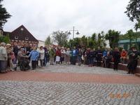 Bild. PB - Unter großer Anteilnahme der Bürger wurde am 24. Juni der neue Kirchplatz in Burg Stargard eingeweiht