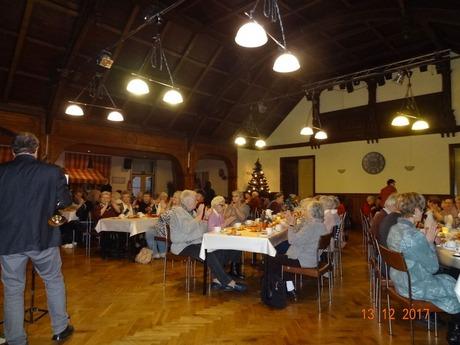 Bild: SBV-PB Mitglieder und Gäste des Verbandes im festlich geschmückten Saal
