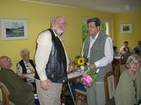 Herr Köpnick macht sich seit Jahren stark für den Verein Foto. K. Köster SBV