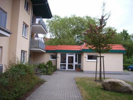 Bild:SBV/PB Eingang zur Kontakt- und Beratungsstelle am Walkmüllerweg 4a