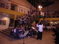 Der Heimatchor Burg Stargard und der Chor der Regionalen Schule eröffnen den Festakt. Foto: P. Braun 11.01.09