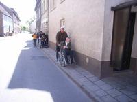 Bild:SBV/AG Die Mühlenstrasse in Burg Stargard
