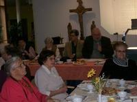 Bild: SBV/KK Herr Braun, Herr Köpnick, Frau Koch und Frau Lips im Präsidium (von re.)