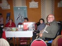 Bild:SBV/KK Am Stand des SBV e.V. Herr Braun, Frau Lips, Frau Kadow und Frau Kaser (von links)