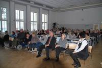 Bild:SBV / DL Festlicher Rahmen in der Aula des Albert Einstein Gymnasiums Neubrandenburg